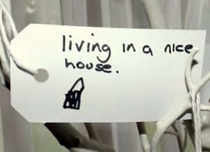 Gratitude Tree - Living in a nice house