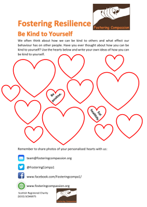 Fostering Resilience - Be Kind to Yourself