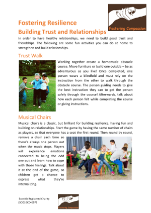 Fostering Resilience - Building trust and relationships