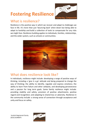 Fostering Resilience - Parents' Guide