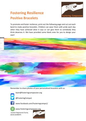 Fostering Resilience - Positive Bracelets